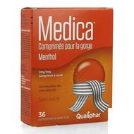 Medica Comprimés à sucer pour la gorge menthol 36pc