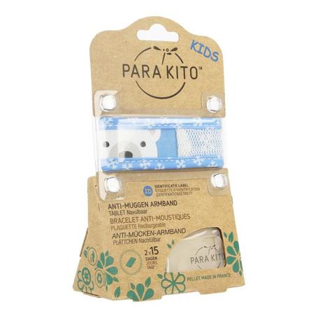 Para'Kito Bracelet anti-moustiques kids ours polaire 1pc