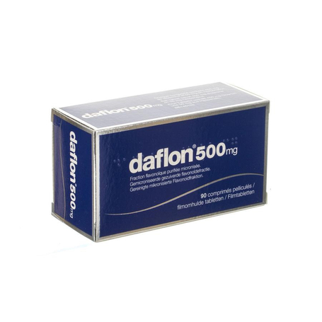 Daflon 500 comp 90 x 500mg