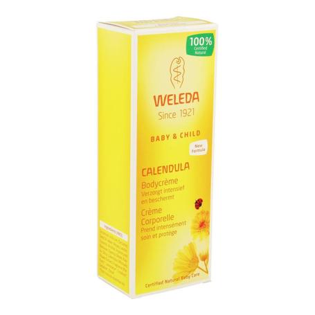 Weleda Calendula baby crème corporelle tube 75ml