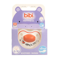 Bibi sucette Happiness Dental I love mama 6-16 mois 1pc