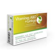 Nutritic Vitamines A&D + Ginkgo 30comp