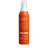 Avene Solaire spray peau sensible SPF50+ 200ml