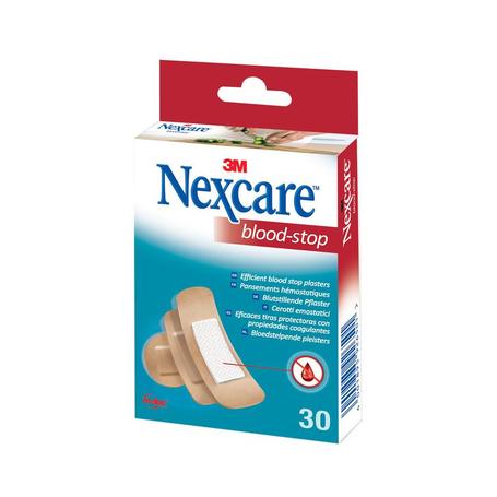Nexcare Bloodstop Pansements 30pc