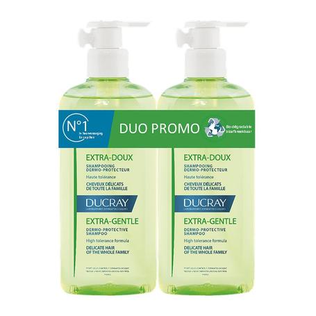 Ducray Extra milde shampoo duo 2x400ml