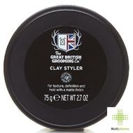 Great british grooming clay styler 75ml