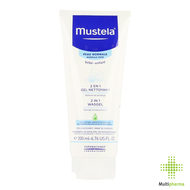 Mustela 2 in 1 Wasgel 200ml