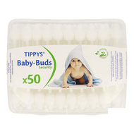 Tippys Baby-Buds Coton-tige 50pc