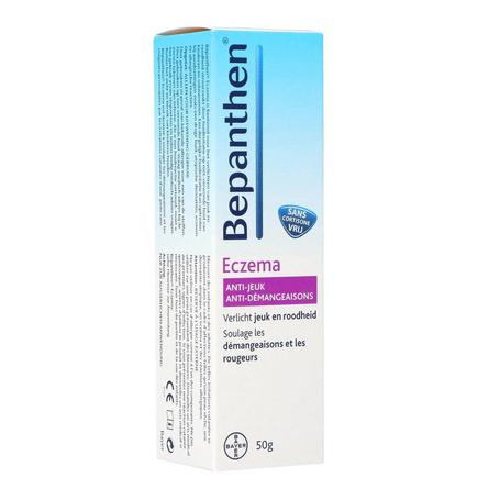 Bepanthen Eczema anti-jeuk crème zonder cortisone tube 50g