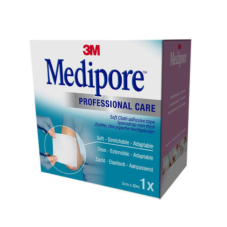 3M Medipore professional care elast adh 5cmx10m rol 1st