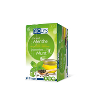 Biolys groene thee munt zakje 24