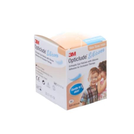 Opticlude 3m silicone eye patch skin tone mini 50