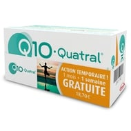 Q10 Quatral capsulen 2x28 + 2x7gratis promo