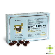 Bio-q10 100mg gold caps 90