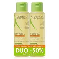 A-Derma Exomega control olie 2x500ml promo -50%