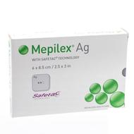 Mepilex ag pansement steril 6,0x 8,5cm 5 287021