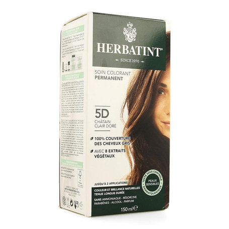 Herbatint chatain clair dore 5d