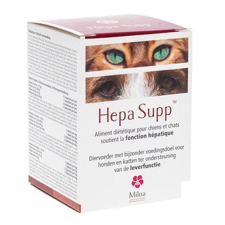 Miloa Hepa Supp Complement alimentaire foie chien chat 30comp