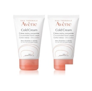 Avene Cold cream crème mains Duo 2x50ml
