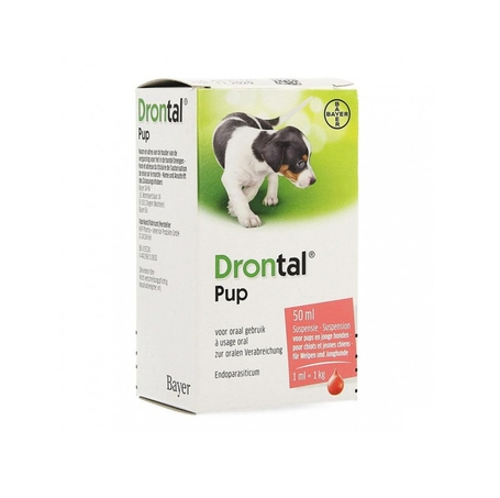 Drontal Pup Susp 50ml
