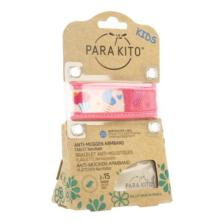 Para'Kito Bracelet anti-moustiques kids cupcakes 1pc