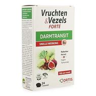 Ortis vruchten & vezels forte tabletten 24st
