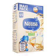 Nestle Baby Cereals rijst vanille glutenvrij 500g