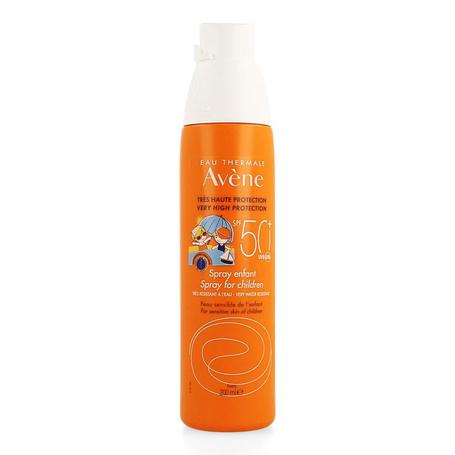 Avene Zon Spray voor kinderen SPF50+ 200ml