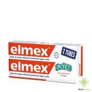 Elmex Junior tandpasta tube 2x75ml