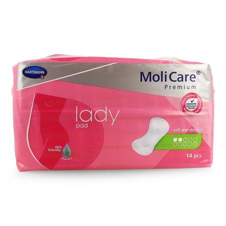 Molicare pr lady pad 2 drops 14 p/s