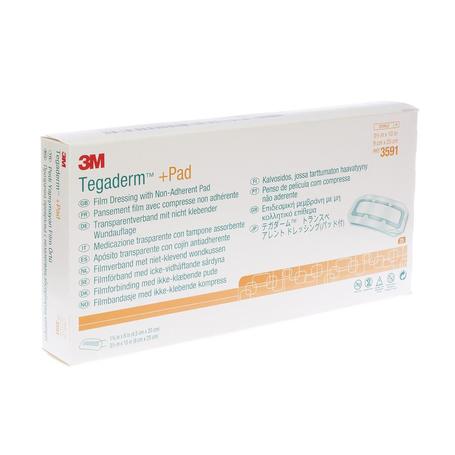 3M Tegaderm + Pad transp steril 9cmx25cm