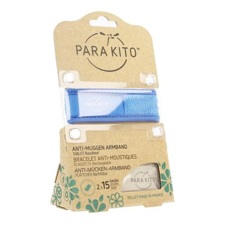 Para'Kito Bracelet anti-moustiques bleu 1pc