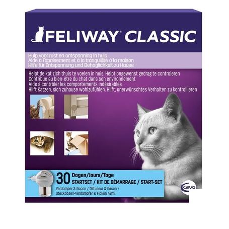 Feliway Classic kit de démarrage diffuseur + recharge 30 jours flacon 48ml