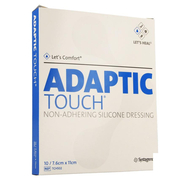 Adaptic Touch siliconeverband  7.6x11cm 10st