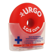 Urgo S.O.S Cuts 3mx2,5cm 1st