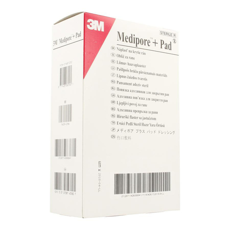 Medipore + pad 3m 10x15,0cm 25 3569e