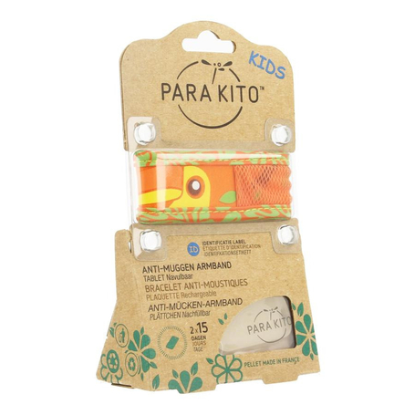 Para'Kito Bracelet anti-moustiques kids toucan 1pc