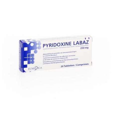 Pyridoxine comp. 20x250mg