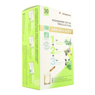 Arkofluide Detox programma ampullen 30st