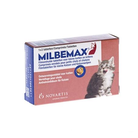Milbemax Petit chats /chatons comprimés 1x2pc