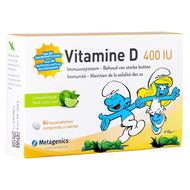 Metagenics Vitamine D 400IU kind citroensmaak 84comp