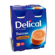 Delical Melkdrank karamel 4x200ml