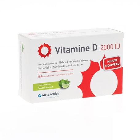 Vitamine d 2000iu tabl 168 metagenics