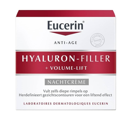 Eucerin Hyaluron Filler + Volume lift nachtcrème 50ml