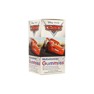 Disney Multivitamines Cars 120gommes