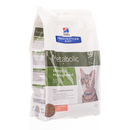 Prescription diet feline metabolic 4kg