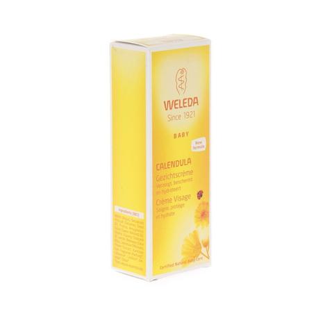Weleda Calendula Baby Gezichtscrème 50ml