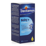 Davitamon Baby Vitamine D olie 25ml