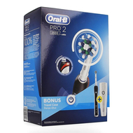 Oral b pro 2500 black borstel crossact+travel case