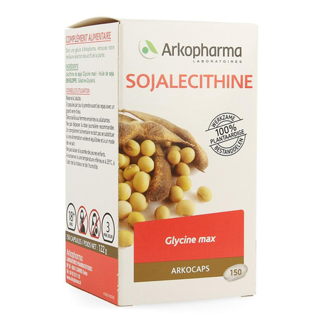 Arkogelules lecithin soja vegetal 150